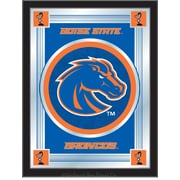 Holland Bar Stool NCAA  Logo Mirror Framed Graphic Art; Boise State
