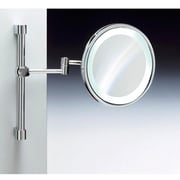 Windisch by Nameeks Wall Mounted Magnifying Mirror; Chrome