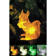 Homebrite Solar Solar Squirrel w/ Color Change Lighting