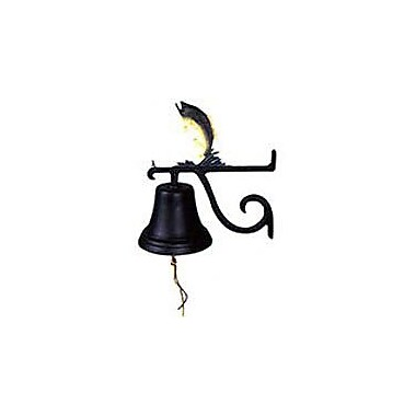 Montague Metal Products Cast Bass Bell; Swedish Iron