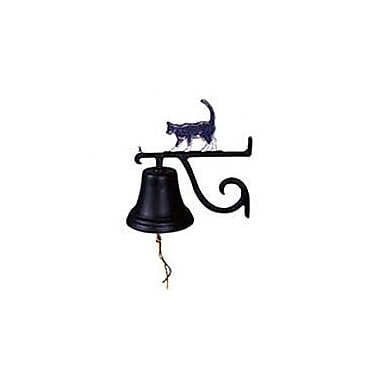 Montague Metal Products Cast Cat Bell; Gold