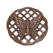 Oakland Living Butterfly Stepping Stone; Antique Bronze