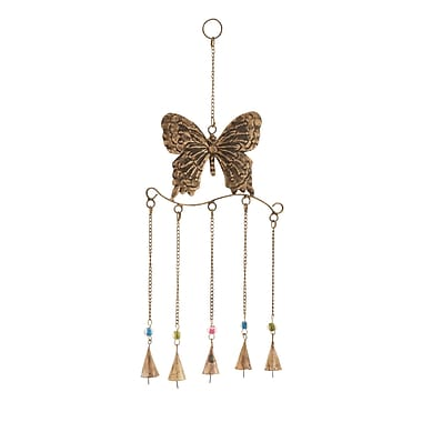 Woodland Imports Butterfly Wind Chime