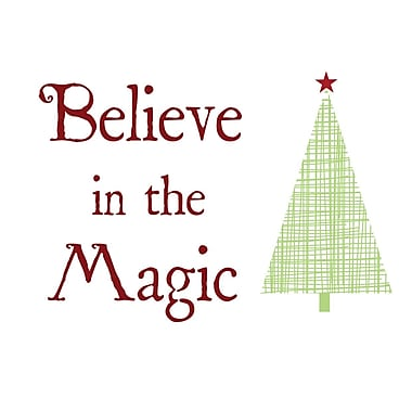 Secretly Designed Believe in Magic by Secretly Spoiled Textual Art
