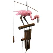 Cohasset Gifts & Garden Pink Flamingo Wind Chime