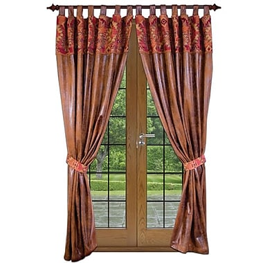 Wooded River Bessie Gulch Tab Top Curtain Panels (Set of 2)