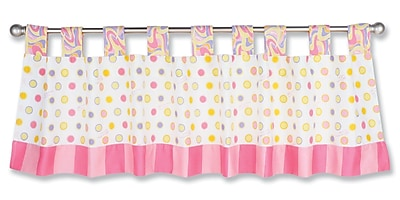 Trend Lab Dr. Seuss Oh The Places You''ll Go 53'''' Curtain Valance; Pink