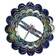 Next Innovations Eycatcher Kaleidoscope Dragonfly Wind Spinner; Small