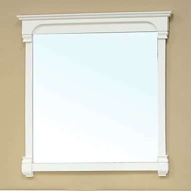 Bellaterra Home Crestwood Mirror; White