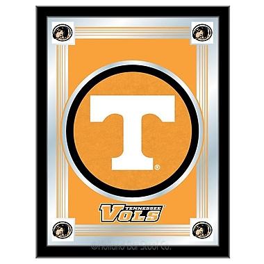 Holland Bar Stool NCAA Logo Mirror Framed Graphic Art; Tennessee