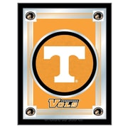 Holland Bar Stool NCAA  Logo Mirror Framed Graphic Art; Tennessee