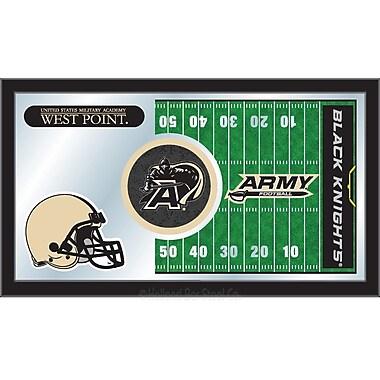 Holland Bar Stool NCAA Football Mirror Framed Graphic Art; US Military Academy
