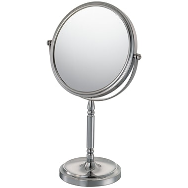 Mirror Image Mirror Image Vanity Mirror; Brushed Nickel
