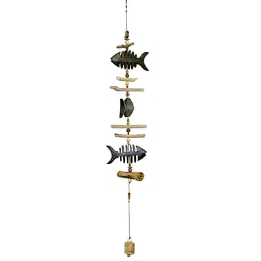 Cohasset Gifts & Garden Bone Fish Cohasset Bell