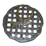 Oakland Living Eagle Stepping Stone; Antique Pewter