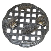 Oakland Living Frog Stepping Stone; Antique Pewter