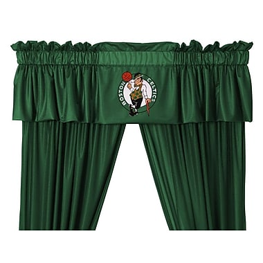 Sports Coverage NBA 88'' Boston Celtics Curtain Valance