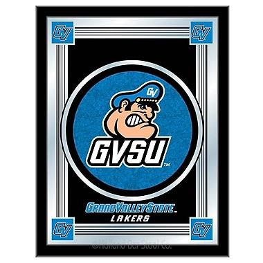 Holland Bar Stool NCAA Logo Mirror Framed Graphic Art; Grand Valley State