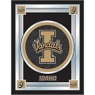 Holland Bar Stool NCAA Logo Mirror Framed Graphic Art; University of Idaho