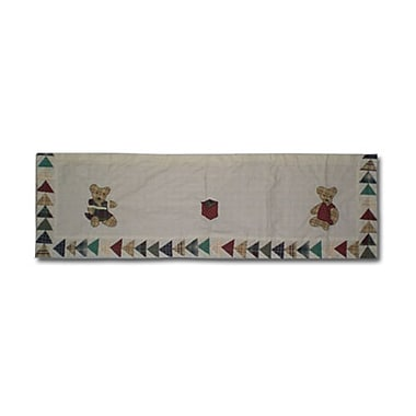 Patch Magic Brown Bear 54'' Curtain Valance