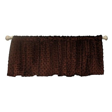 Ozark Mountain Kids Chocolate Mint 54'' Curtain Valance