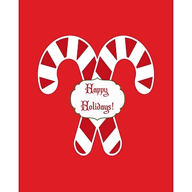 Secretly Designed Candy Cane Holidays by Secretly Spoiled Graphic Art