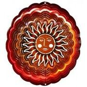 Next Innovations Eyecatchers Sun Face Wind Spinner; Red / Copper