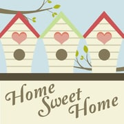 Secretly Designed Home Sweet Home by Secretly Spoiled Graphic Art; 8'' H x 8'' W x 0.25'' D