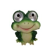 Smart Solar Garden Pals Solar Frog Light Statue (Set of 2)