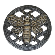 Oakland Living Bee Stepping Stone; Antique Pewter