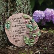 Evergreen Flag & Garden Tears To Heaven Stepping Stone