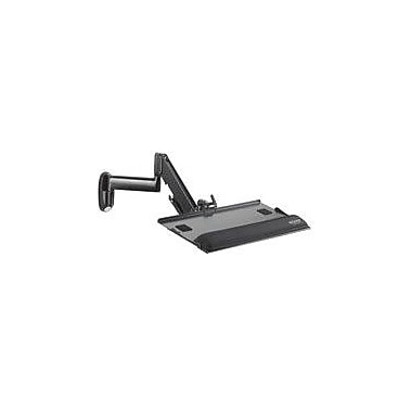 Chief Keyboard and Mouse Tray Wall Mount; Black
