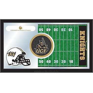 Holland Bar Stool NCAA Football Mirror Framed Graphic Art; Central Florida
