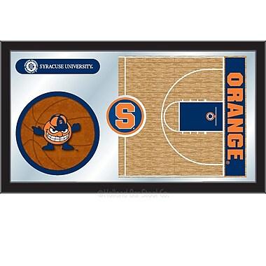 Holland Bar Stool NCAA Basketball Mirror Framed Graphic Art; Syracuse