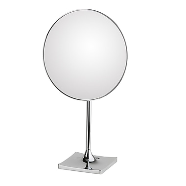 WS Bath Collections Mirror Pure Discololed Magnifying Cosmetic Mirror