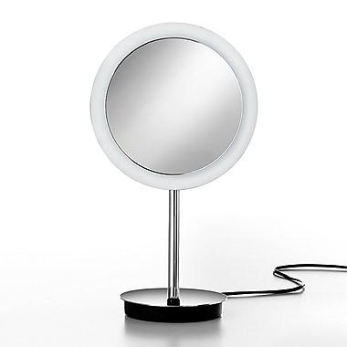 WS Bath Collections Mirror Pure Mevedo 3X Magnifying Makeup Mirror w/ Lighting