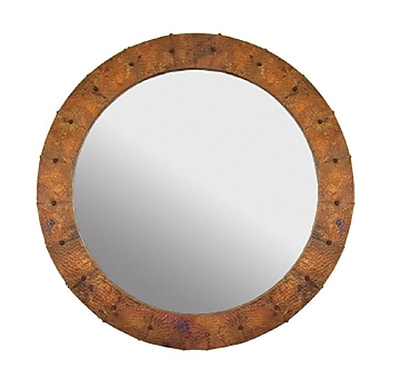 Native Trails Tuscany Round Accent Mirror