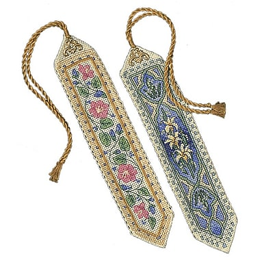 Gold Collection Bookmarks Counted Cross Stitch Kit, 9
