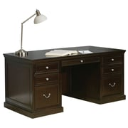 Kathy Ireland Home by Martin Fulton Hardwood Solid and Veneer Executive Desk