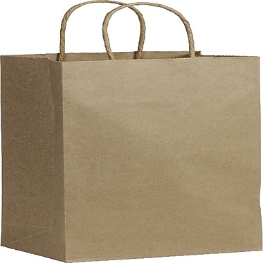 Bags & Bows® Recycled Paper Shoppers Wine, 5-1/4