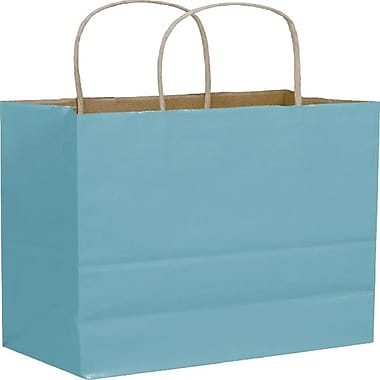 Bags & Bows® Colour-on-Kraft Shoppers, 8 1/4