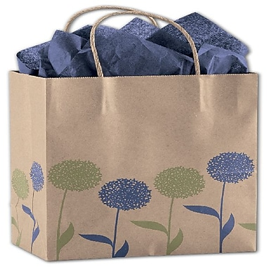 Bags & Bows® Painted Posies Shoppers, 8-1/4