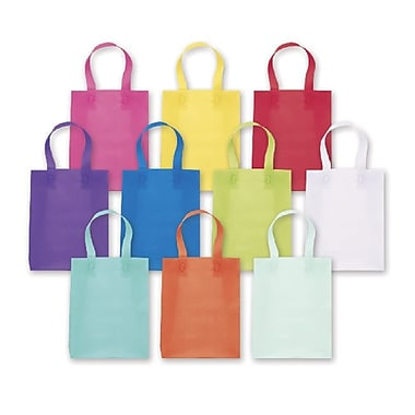 Bags & Bows® Frosted High Density Shoppers Assortment, Coloured, 120/Pack