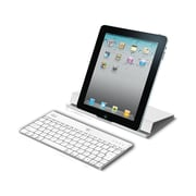 Adesso Aluminum Bluetooth Keyboard with Universal Case Stand for iPad