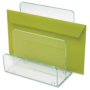 Lorell - Mini-trieur en acrylique, vert transparent