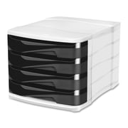 "Greenside 4-Drawer Green Spirit Desktop Filling Module, 9-1/2""(H) x 11-1/2""(W) x 15-3/10""(D), Graphite"
