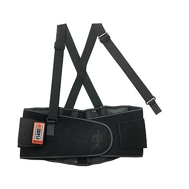 Ergodyne® ProFlex® 1400 Universal Size Back Support, Black
