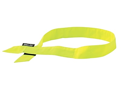 Ergodyne® Chill-Its® 6705 Evaporative Cooling Bandana, Lime