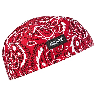 Ergodyne® Chill-Its® 6630 High-Performance Cap, Red Western