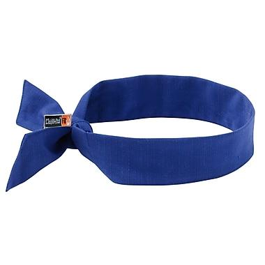 Ergodyne® Chill-Its® 6700 Evaporative Flame Resistance Cooling Bandana, Blue